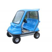 Quality Stable Electric Sightseeing Vehicle With 350W Brushless DC Motor Drum Brake for sale