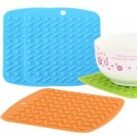 Quality Novelty Round Dots Silicone Kitchen Tools Anti Slip BPA Free Decorative for sale