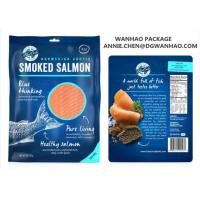 Quality Custom Printing Laminating NYLON / LLDPE Fish Seafood Vacuum Packaging Bags for sale