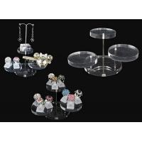 China Acrylic magazine display , clear round acrylic accessories display on sale