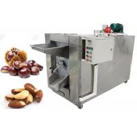 Quality Small Batch Nuts Roasting Machine 100 - 150 KG/H Stainless Steel Material for sale