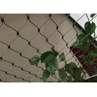 Quality Stainless Steel Wire Rope Plant Trellis Systems Climbing Net Customized Size for sale