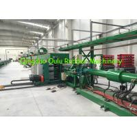 Buy cheap Closed Cell Elastomeric Rubber Foam Machine 6-50 mm Wall Thickness Pipe Extrusion Line from Wholesalers