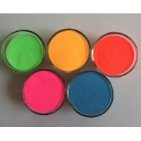 Quality Colored High reflectivity micro glass beads powder with blue/yellow/rose/orange/green color for sale