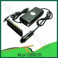 Quality 120w Dc Universal Laptop Car Adapter for sale