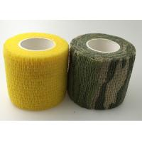 Quality Elasticity Sports Bandage Tape 5cm Width Self Adjustment Non-Sticky To Skin for sale