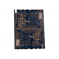 Quality 4 layer 0.25mm thickness black oil resistance PCB for sale