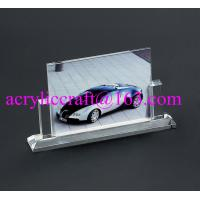 Quality Free design PMMA photo stand high transparency clear acrylic photo frame for sale