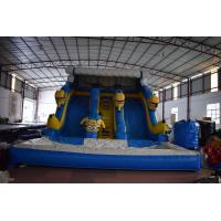 Buy cheap Inflatable minion dry slide commercial inflatable minion slide cheap price from wholesalers