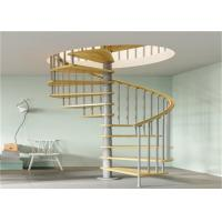 Anti Rust Prefab Custom Spiral Staircase With Stainless Steel Post Glass  Railing Images   Buildingrailing