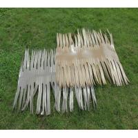 Quality Fireproof Synthetic Palm Thatch Tile for sale