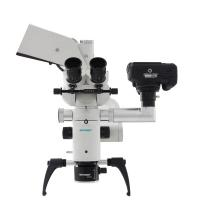 Quality White Dental Operating Microscope Wirh 360 Degree Rotation Handle Compact Design for sale