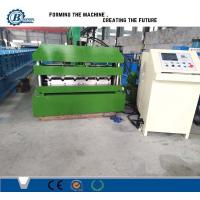 Buy cheap 0.-0.8mm Thickness Material Metal Roofing Sheet Crimping Curving Machine from wholesalers