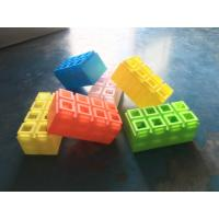 China plastic building blocks toys new innovative concepts farm toys plastic building bricks build and play toys on sale