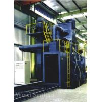 China Welding H Beam Production Line / Shot Blasting Machine For Surface Cleaning on sale