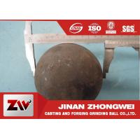 Quality 58-64 HRC Grinding Media Balls for metal mine , power station , cement plant for sale