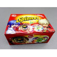 Quality Nice Taste Spinner Candy With Funny And Lovely Shape , Kids Love for sale