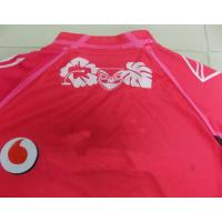 China Polyester Interlock Red Rugby Wear sublimated jerseys for Women , Men on sale