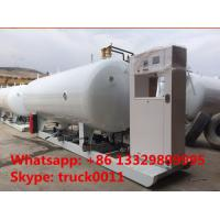 Quality 32m3 skid mobile lpg gas station, CLW brand best price 16tons skid lpg gas filling plant for automobiles for sale for sale