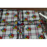 China Colorful PVC Crystal Printed Tablecloth on sale