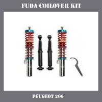 China High quality Adjustable Coilover Kit for Peugeot 206 on sale