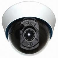 Quality 4.5-inch CCTV Plastic Dome Camera in White Color and 420 to 700TVL Resolution, 4 to 9mm Lens Varifoc for sale