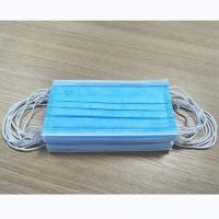 Quality Anti Saliva Disposable Mouth Mask Earloop Medical Mask Comfortable With Tie On for sale