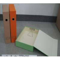 Quality selling well cardboard files,magazine files, office set files ,accept customized boxes for sale