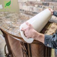 Quality 0.03-0.2mm Transparent Self Adhesion Marble Countertop Protective Film for sale