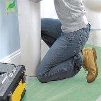 Quality 0.03-0.2mm Green Self-adhering  floor protection during construction for sale