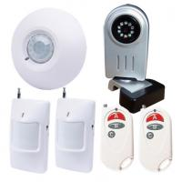 Quality wireless 900/1800/1900MHz gsm mms alarm system with listen-in and photo-taking for sale