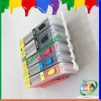 Quality printer refillable ink cartridge for Canon MG5460 with chip for sale