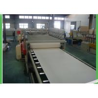 Quality Conical PVC Sheet Extruder , Hydraulic Driving Plastic Film Extruder Machine for sale