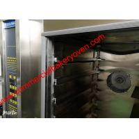 Quality 10 12 Trays Digital Control Bakery Convection Oven , Electric Hot Air Bread Oven for sale