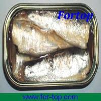 Quality Canned Sardines in Vegetable Oil 125g for sale