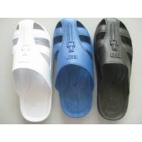 China Home Anti Static Shoes Comfortable Durable Safety ESD Six Hole SPU Slippers on sale