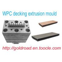 Quality WPC decking extrusion mould,PVC floor for sale