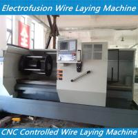China cnc controlled tapping tee electrofusion fitting wire laying machine ELECTRO-FUSION FITTIN on sale