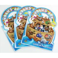 Quality NOAH'S ARK Title Custom Book Printing For Children , Die Cutting Handle for sale
