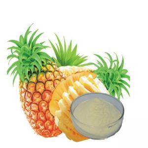 Quality Fruit Extract Bromelain Powder Bulk , Pineapple Extract Bromelain for sale