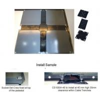 Quality Microwave Communication Stations Raised Access Floor Tiles 363 Kg Concentrated Loading for sale