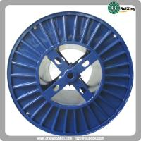 China Corrugated steel spool for wire stranding machine electric cable steel cable reels on sale