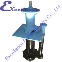 Quality Underground Mine Centrifugal Vertical Sump Pump For Delivering Abrasive, Large Particle for sale