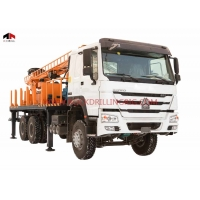 China Truck Mounted 1200m DTH Water Well Drilling Rig on sale