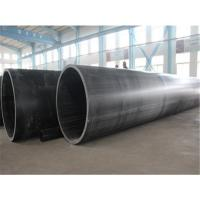 Quality Ultra-high molecular weight polyethylene (UHMWPE) wear resistant and high temperature resistant pipe for sale