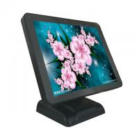 Quality 17 Inch Black Color All In One Pos System Single Screen With Plastic Housing for sale