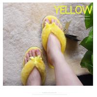 Quality Sheepskin and fur slippers Women's summer fashion indoor wood floor anti-skid cute woolen shoes drag four seasons tide for sale