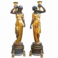 Quality Polyresin Statue Decoration, A Couple, Handmade Processing, Best Sellers for sale