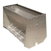 Quality Stainless Steel Double Sided Pig Feeding Trough , Pig Water Trough for sale