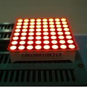 China Electronic Video 8X8 Led Dot Matrix led Message Board IC Compatible on sale
